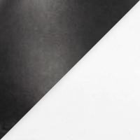 White with Black Heel